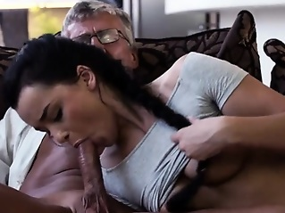 doggystyle blowjob brunette