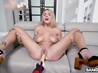 blonde big cock big tits